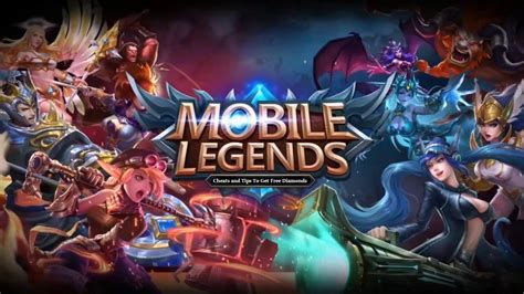 Mobile Legends Cheats And Tips To Get Free Diamonds