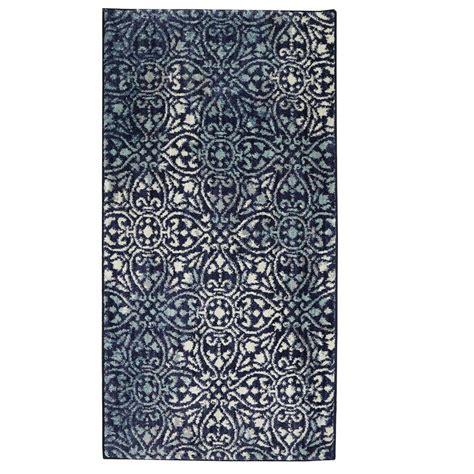 jeff lewis rugs jeff lewis winston indigo 2 ft x 4 ft area rug 497293