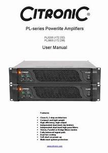 Citronic Pl3200 Dj Console Download Manual For Free Now