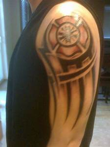Fireman Tribal Tattoos images
