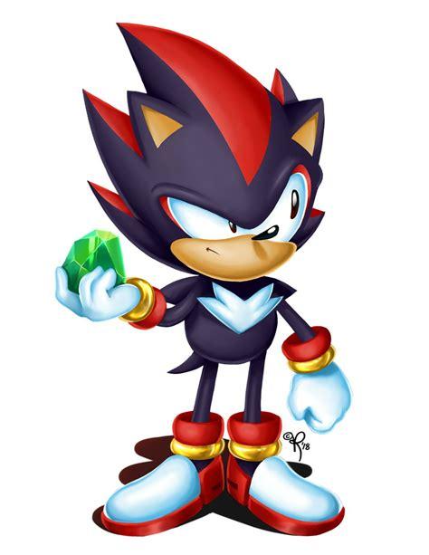 Shadow Hedgehog Classic Sonic