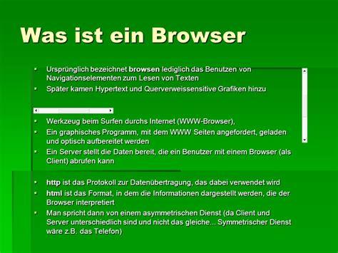 Browser Das Internet Lesen  Ppt Herunterladen