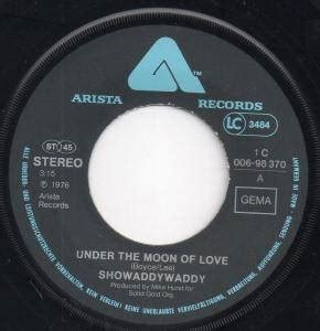 showaddywaddy under the moon of love 7 quot 1976