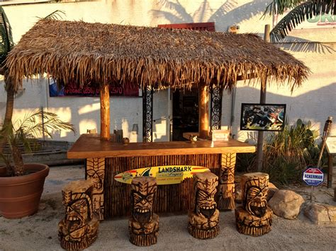 Tiki Bar Furniture by Tropical Decor Tiki Bars By Cts Designs