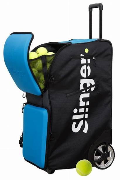 Tennis Bag Slinger Machine Ball Slam Grand