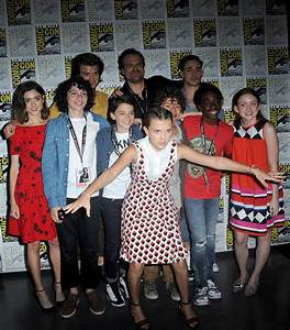 The cast of Stranger Things wants to thrill us with Comic-Con unveiling of Season 2 ...