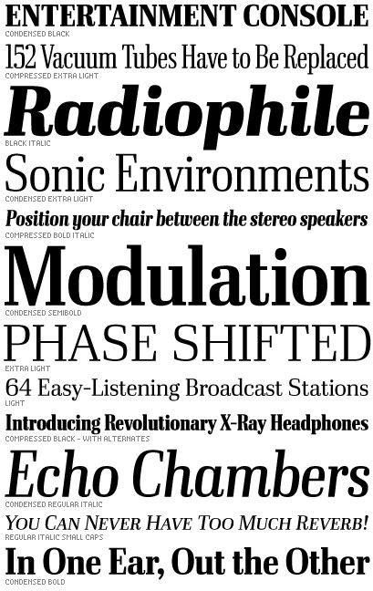 font bureau fonts 64 best images about typefaces on behance