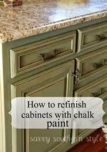 How To Chalk Paint Cabinets by Ideas For Painted Kitchen Cabinets Rustic Crafts Amp Chic