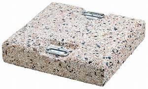 Sonnenschirmständer Für Große Schirme : betonplatte scolaro kiesbetonplatte beschwerungsplatte ~ Lizthompson.info Haus und Dekorationen