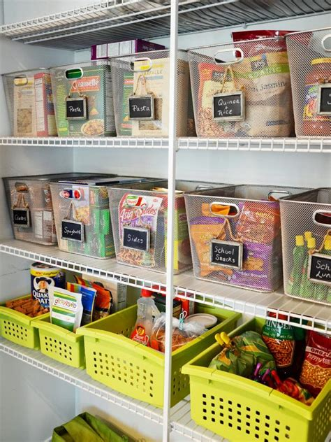 kitchen organizer ideas 10 steps to an organized pantry hgtv 2373