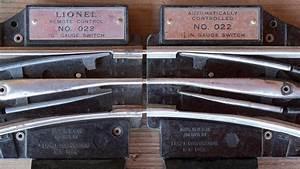 Prewar And Postwar Versions Of Lionel Switches