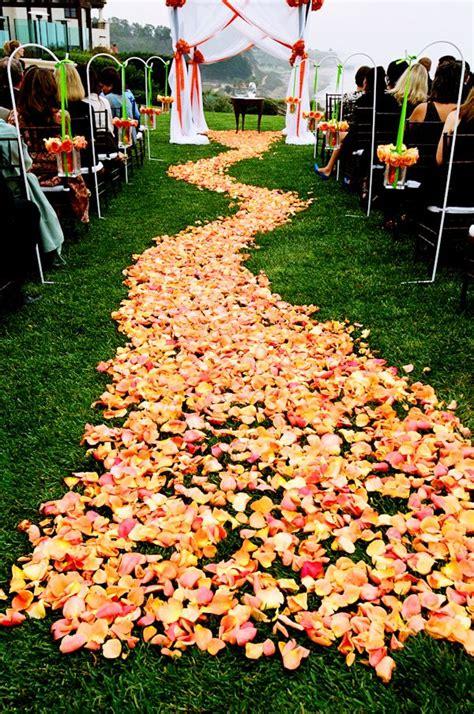 fresh rose petals  weddings images  pinterest