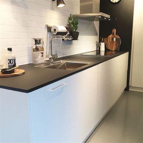 cuisine kvik senti by kvik kitchen white brick walls open kitchens and kitchens