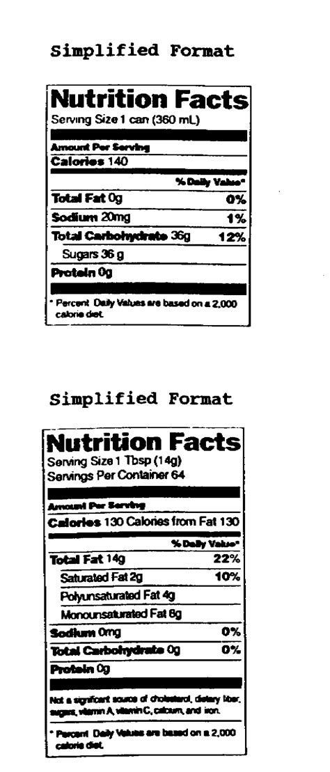 guide  nutrition labeling  education act nlea