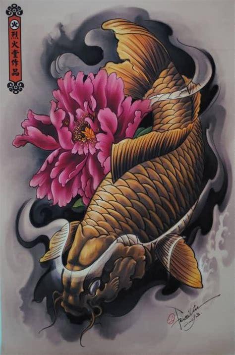 ideas  koy fish tattoo  pinterest koi