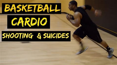 court basketball cardio shooting drill suicide