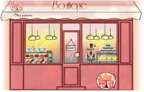 jeu de cuisine restaurant vitrines décorées de boulangerie pâtisserie sur thé ou
