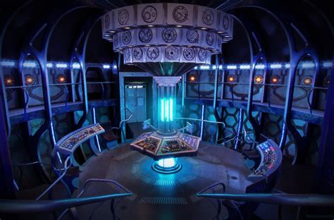 11th Doctor Tardis Interior by Deconstruction Of Tardis Confirms New Interior For