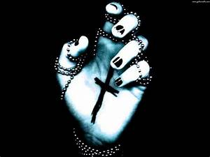 cross on hand Wallpaper and Background Image