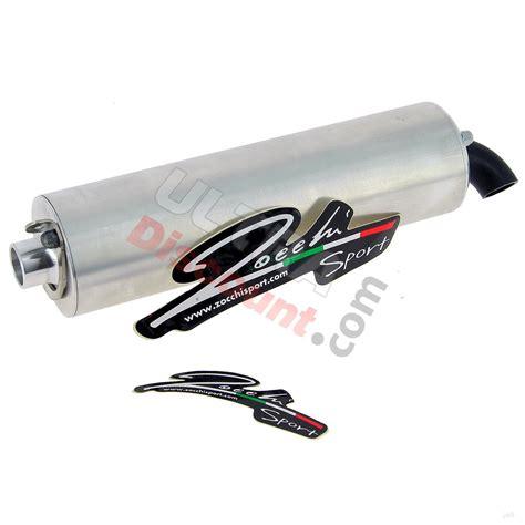 cartouche de pot 50cc muffler for zocchi exhaust for pocket bike 215mm 94db exhaust system pocket bike spare