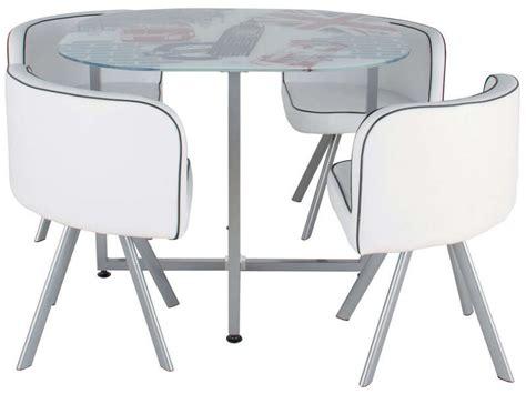 table cuisine chaise encastrable table de cuisine gain de place conforama palzon com