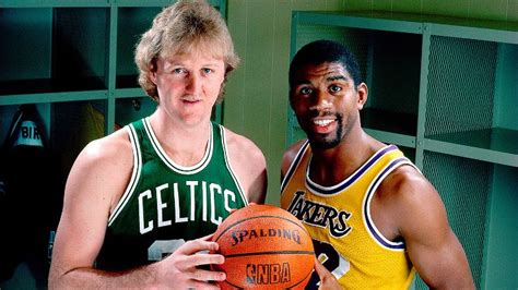 magic johnson  larry bird  biggest rivalry  nba