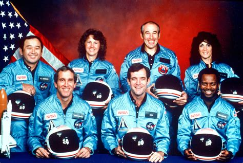 Image result for space shuttle Challenger exploded just after takeoff. All seven of its crewmembers were killed.