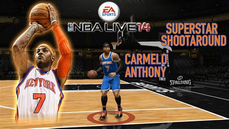 NBA Live 14 - (XB1) - Superstar Shoot Around | Carmelo ...