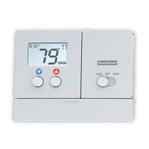 goodman tech support phone number goodman single stage programmable heat thermostat 2