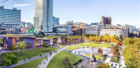 manchester piccadilly gardens  architect