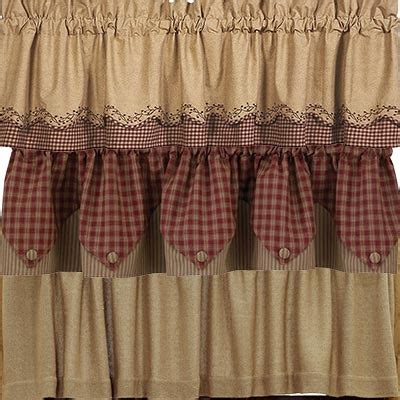 primitive country curtains from park designs ihf and