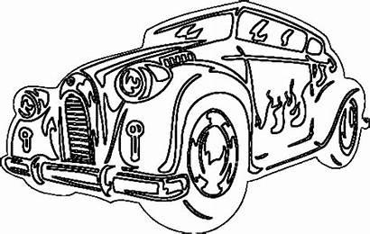 Coloring Cars Cool Classic Printable Drawing Racing