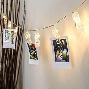 Lichterkette Mit Fotos : diy fotoklammer lichterkette pretty little page ~ Sanjose-hotels-ca.com Haus und Dekorationen