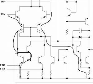 op amp operational amplifier ua741cp reading the With datasheet what is quotinput hysteresisquot electrical engineering stack