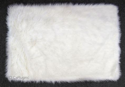 fluffy white area rug shaggy fluffy flokati rug shag solid white 3 inch thick