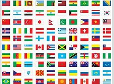 Free Vector Flags of The World Free Vector Graphics