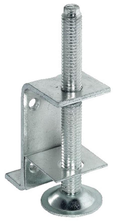 plinth adjusting fitting  supporting bracket load capacity kg