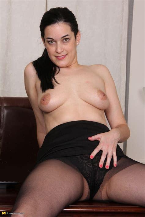 Nyla Parker Busty Milf Secretary Strips At Office Pichunter
