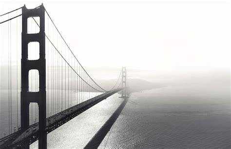 Black And White San Francisco Wallpaper Mural Murals