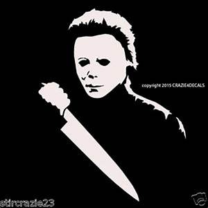 "7"" Michael Myers Halloween Horror Vinyl Decal Sticker"