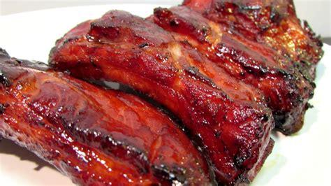 pork ribs char siu ribs recipe dishmaps