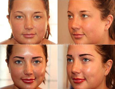Eyebrows + Eyeliner And Lips Semi Permanent Makeup