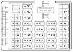 2002 Hyundai Santa Fe Fuse Panel Diagram