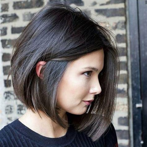 beste einfache kurze bob haarschnitte fuer dickes haar