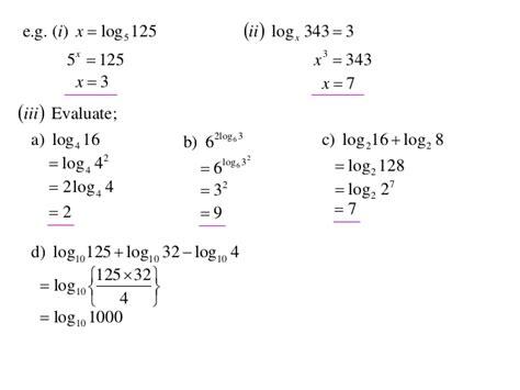 12 X1 T01 01 Log Laws (2013