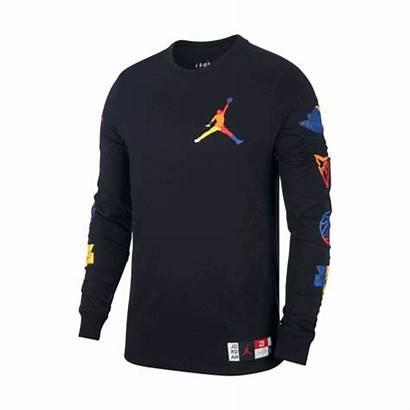 Jordan Dna Crew Sleeve Manelsanchez Larga Camiseta