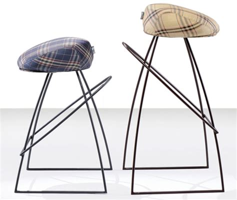 Cool Bar Stools By Fabio Vinella. Ceiling Lights. Sheer Shower Curtain. Hidden Closet Doors. Craftsman Style Bathroom. Bathroom Vanity With Sink. Tapestry Pillows. Beveled Square Mirror. Used Granite Countertops
