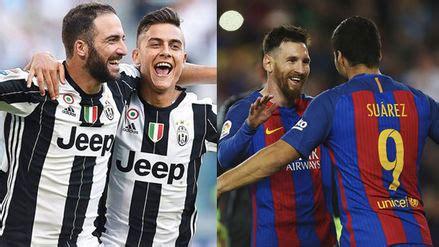 Juventus y Barcelona una guerra que comienza mañana.
