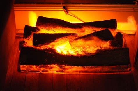 Artificial Flames For Fireplace - vintage faux fireplace log light burning logs my