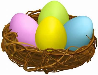 Nest Easter Egg Clipart Transparent Clip Nests